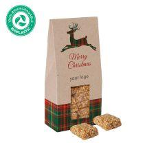Logózható édesség karácsonyra