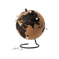 Környezetbarát parafa földgömb
