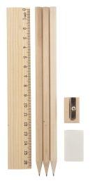 Környezetbarát fa ceruzakészlet