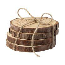Logózható fenyőfa poháralátét