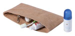 Kozmetikai táska juta anyagból